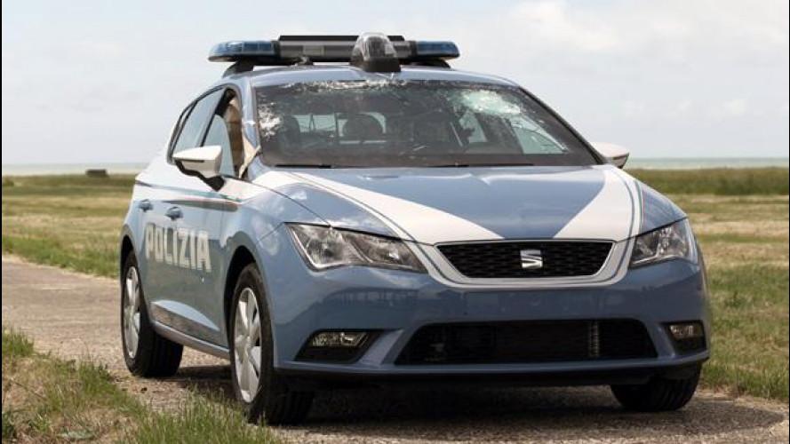 Seat Leon Polizia e Carabinieri alla prova anti-proiettile [VIDEO]