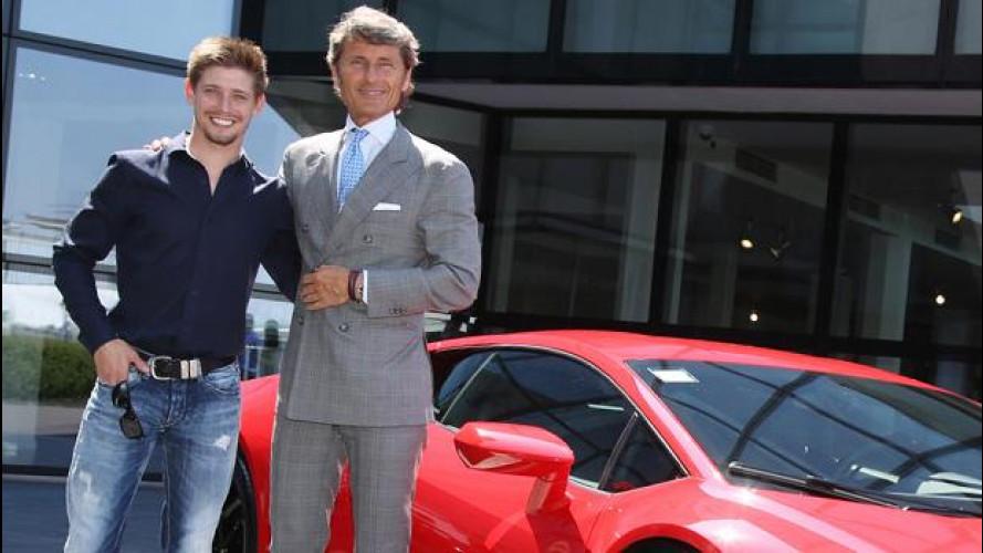Una Lamborghini Huracán per Casey Stoner... in prova!
