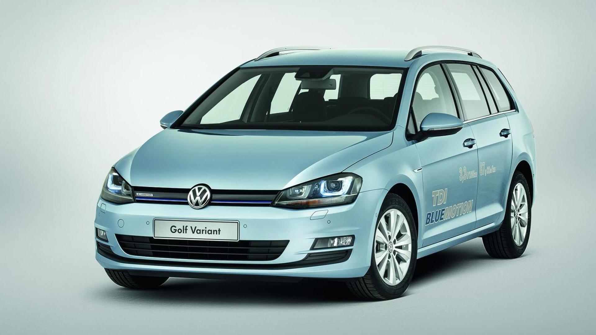 Vw Golf 7 Variant >> Volkswagen Golf Vii Variant Priced From 18 950 Eur De