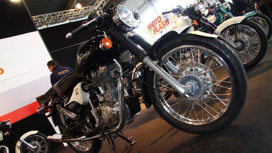 Royal Enfield al Motor Bike Expo 2011