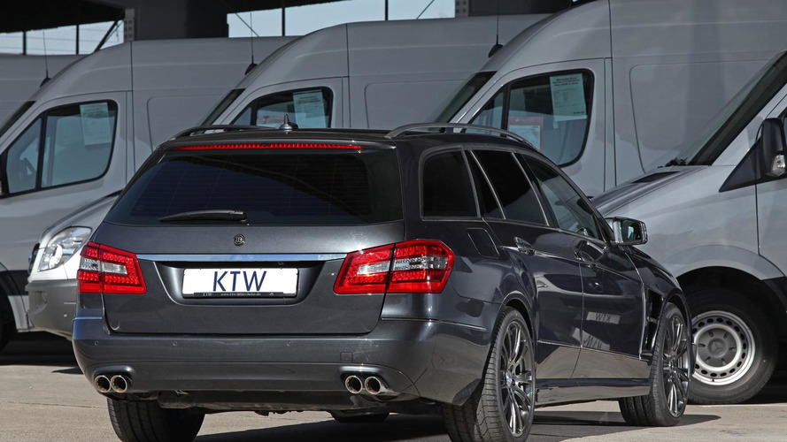 Mercedes-Benz E-Class Wagon prepared by KTW Tuning and Brabus