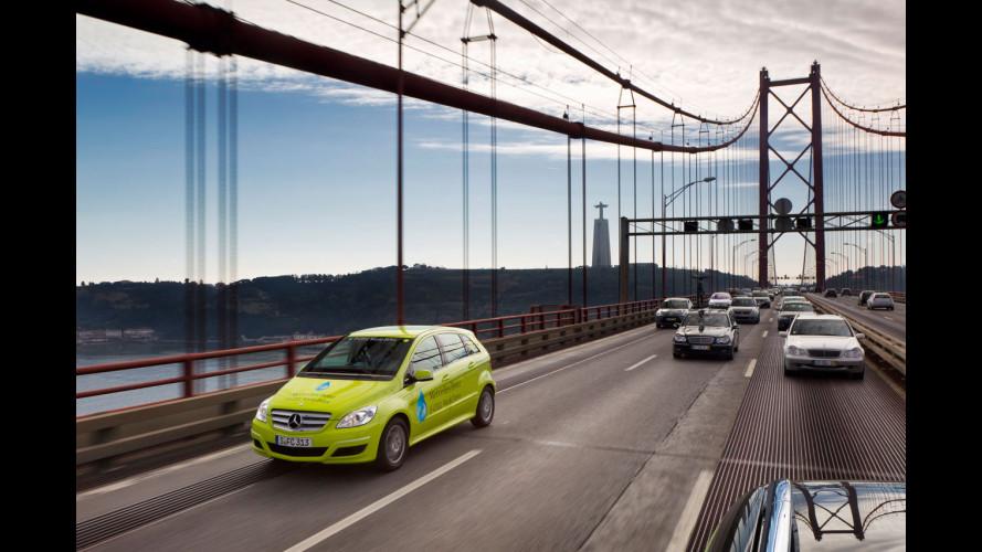 La Mercedes ad idrogeno si comprerà nel 2014