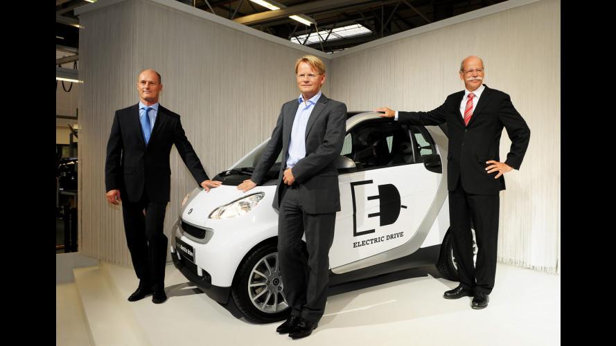 """""""smart electric drive"""" presto sulle strade"""