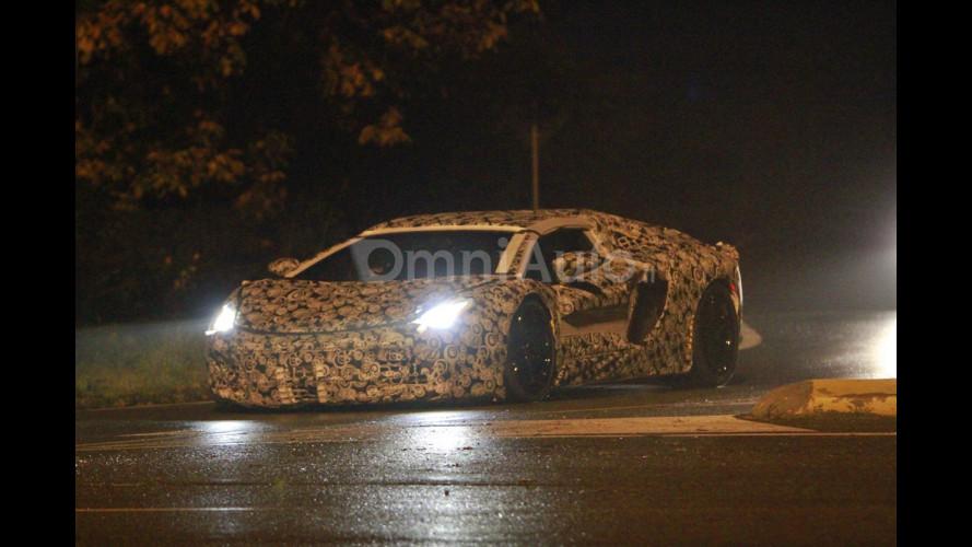 Lamborghini V12, foto esclusive