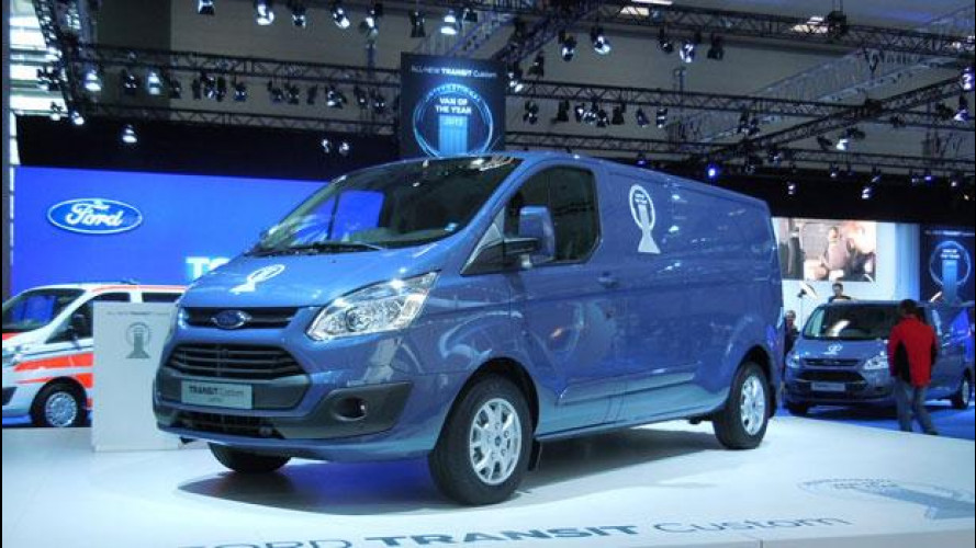 Il Van of the Year 2013 è il Ford Transit Custom