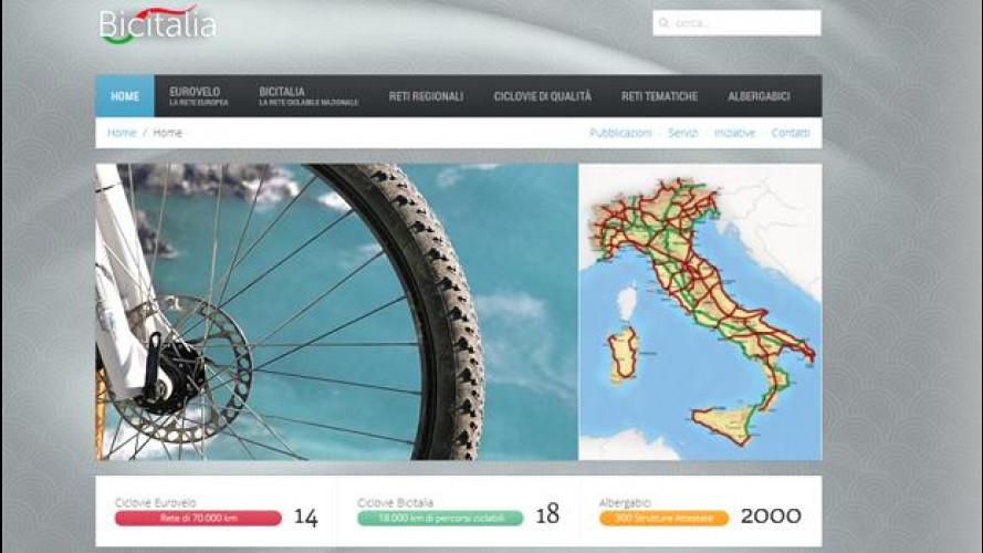 Automobilisti e ciclisti: la mappa delle piste ciclabili in Italia