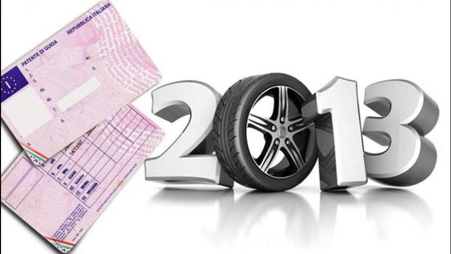 [Copertina] - Patente auto e moto: cosa cambia dal 19 gennaio 2013