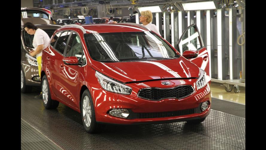 Parte la produzione della nuova Kia cee'd Sportswagon