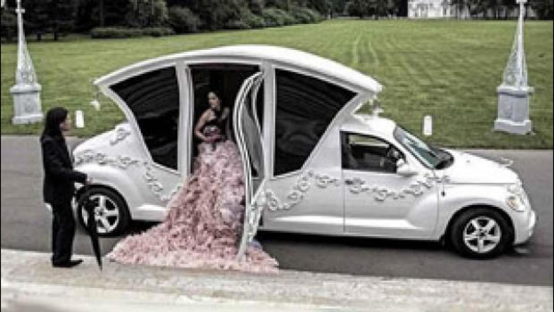 Letto Carrozza Cenerentola : Chrysler pt cruiser come la carrozza di cenerentola