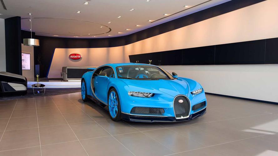 Le plus grand showroom Bugatti du monde ouvre ses portes à Dubaï