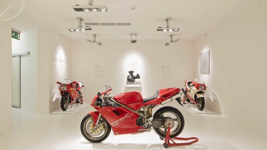 Museo Ducati de Borgo Panigale, herencia de competición