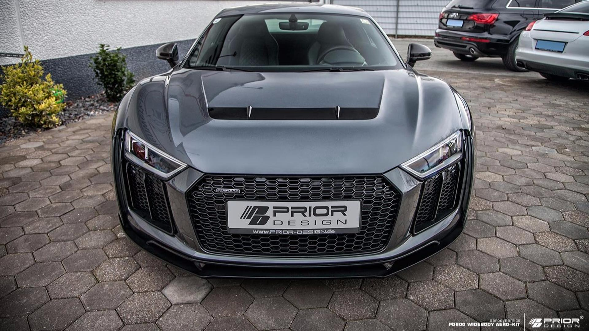 Audi R8 Muscles Up With Aggressive Wide Body Kit