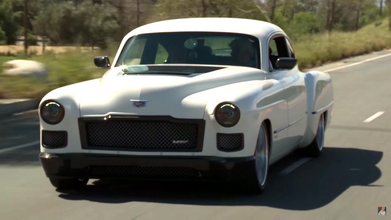 Cadillac Ats V Coupe >> Jay Leno Welcomes Madam V 1948 Cadillac Coupe Restomod By Ringbrothers