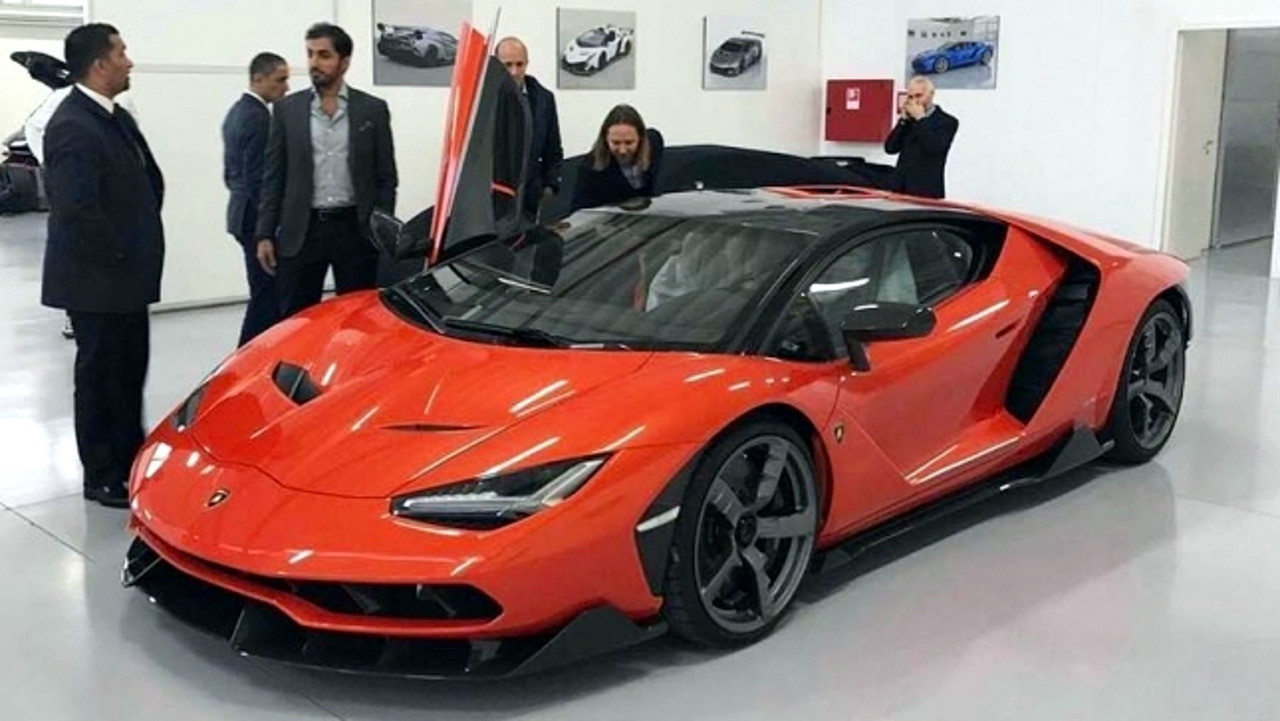 First delivered Lamborghini Centenario