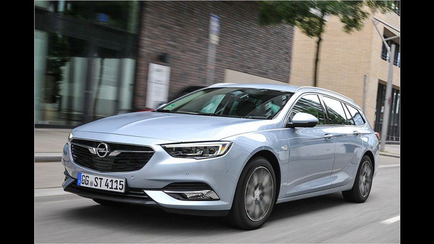 Opel Insignia Sports Tourer (2017) im Test