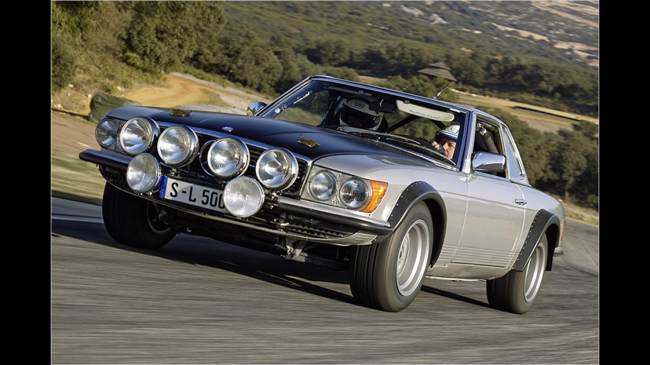 Platz 4: Der Mercedes SL R 107 mit 13.791 Fahrzeugen