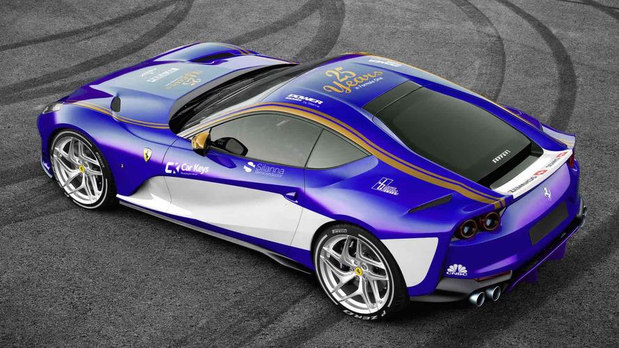 Formula 1 Paint Jobs On Production Cars