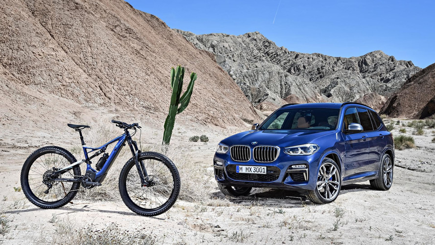 Match Your New BMW X3 With A $5,900 Bike