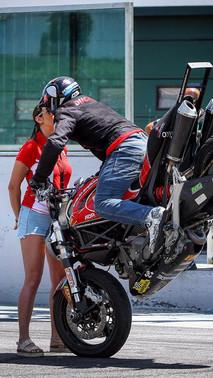 Emilio Zamora Ducati 2017