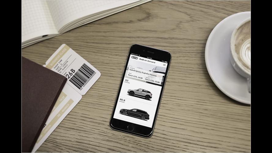 Neuer Mobilitätsservice von Audi
