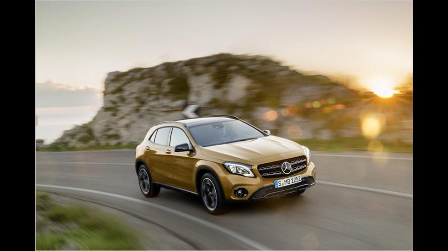 Mercedes verpasst dem GLA ein Facelift