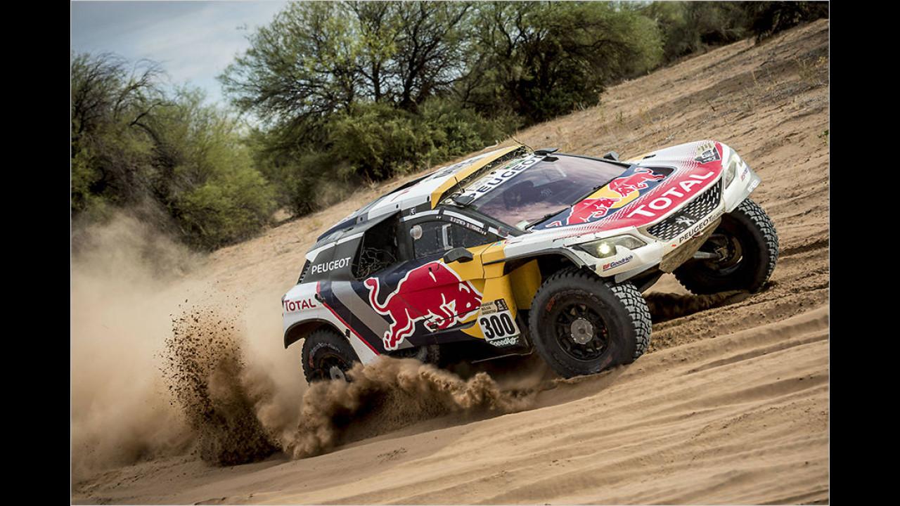 Peterhansel gewinnt die Rallye Dakar