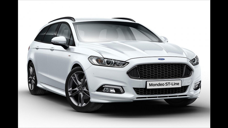 Ford Mondeo: Neue ST-Line