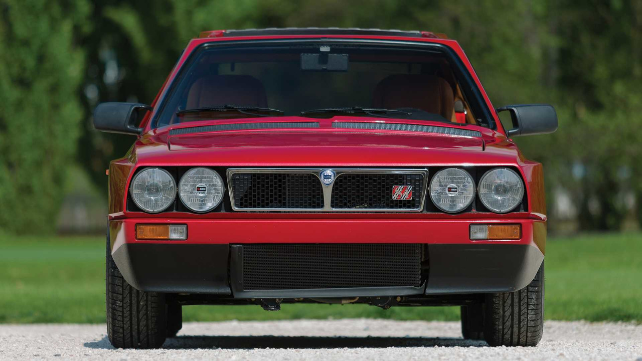 exquisite lancia delta s4 'stradale' has low mileage, high price