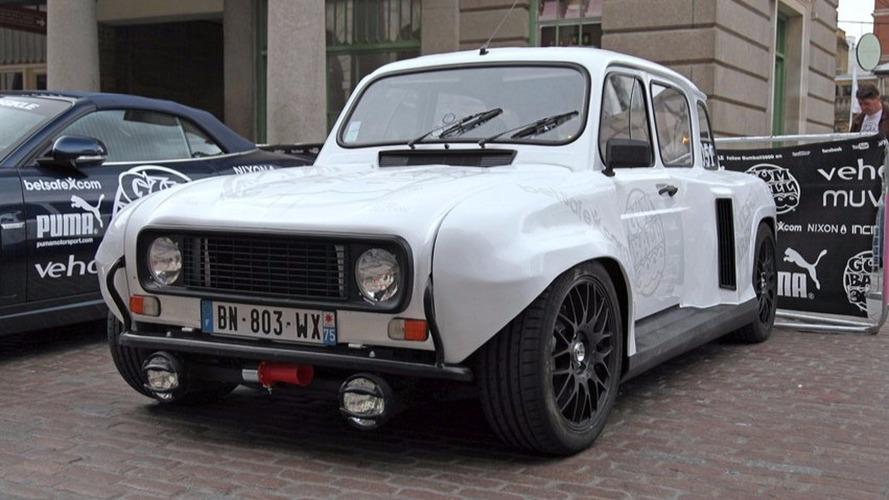 Avez-vous déjà vu ? Une Renault 4L équipée d'un V6 ?