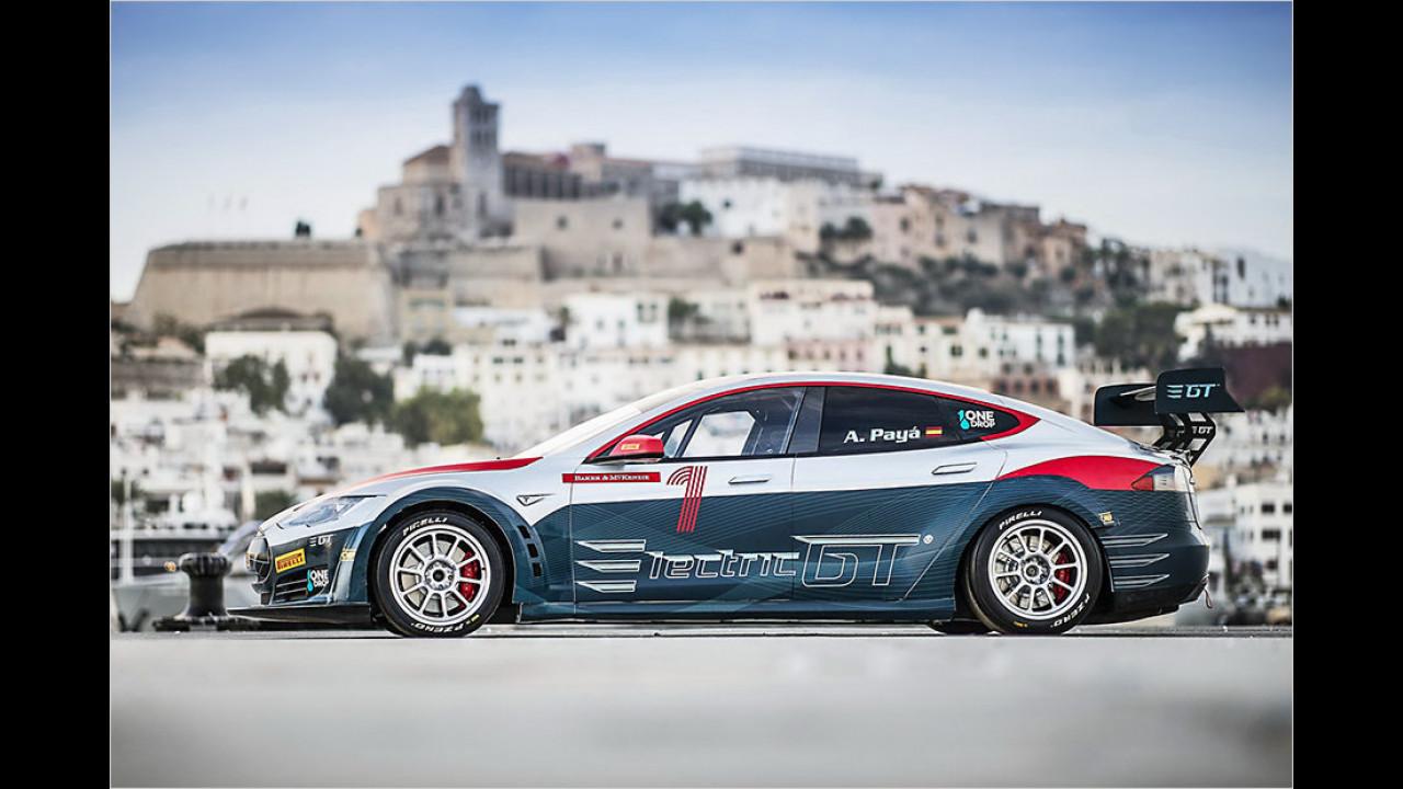 Tesla Model S Rennserie