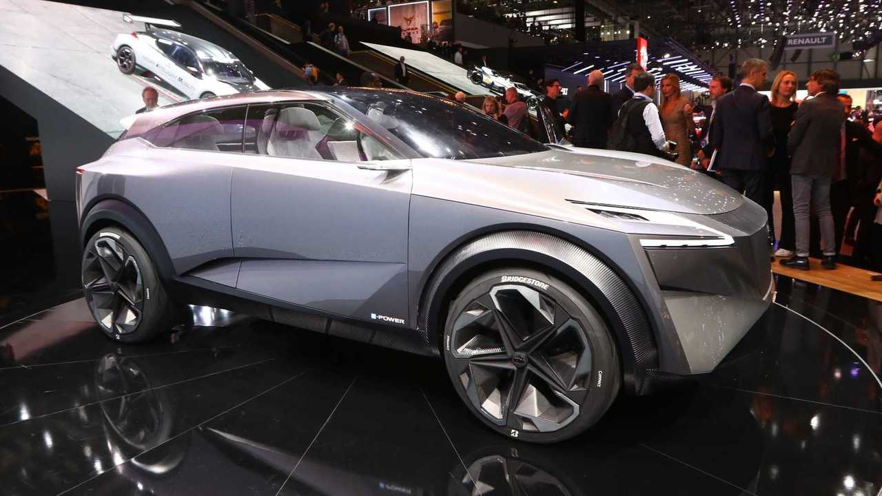 Nissan S Electric Imq Crossover Concept Revealed In Geneva