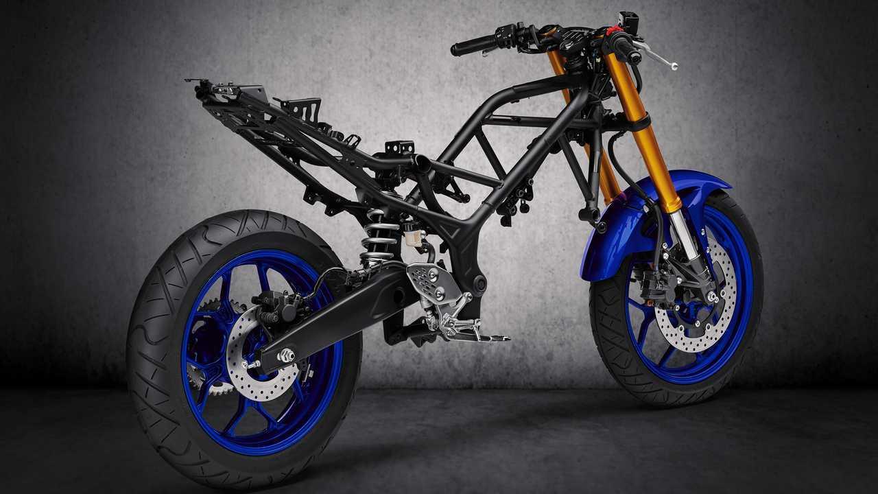 2019 Yamaha YZF-R3 Frame
