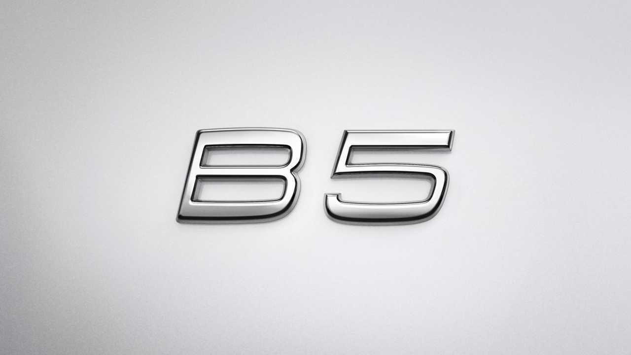 Volvo b-badge