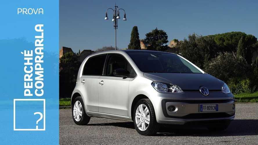 Volkswagen up!, perché comprarla... e perché no