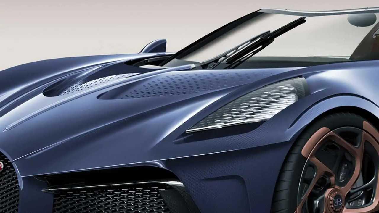 Bugatti La Voiture Noire Roadster tasarım yorumu
