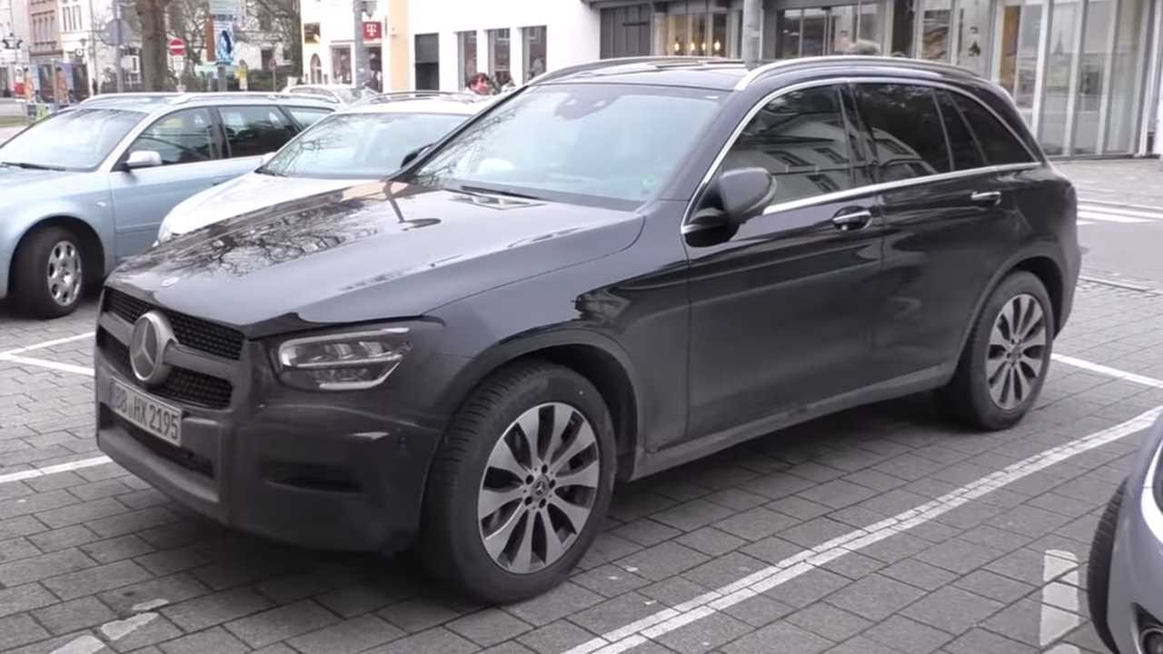 Mercedes-Benz GLC-Class spy video