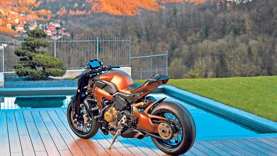 Ducati Custom V4 Streetfighter With Rumors Of More?