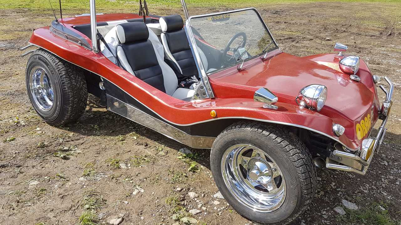 VW dune buggy car in Bocca Di Magra Italy