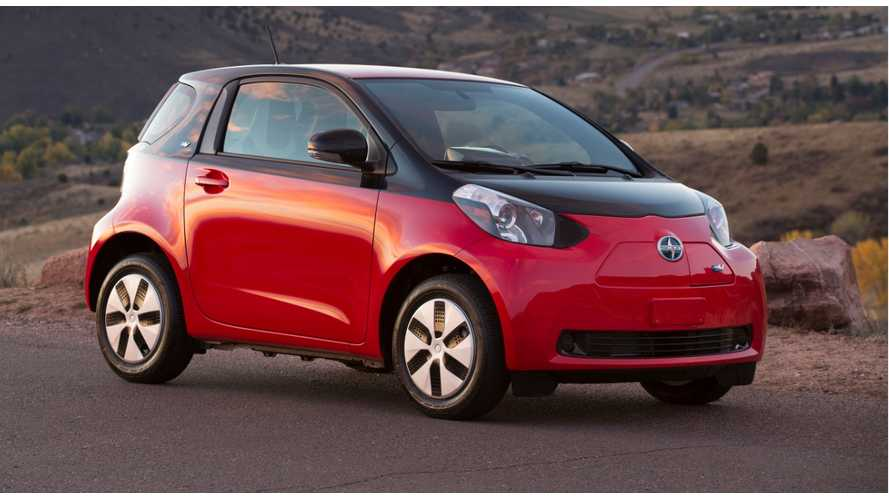First 30 2013 Scion iQ Electric Vehicles Enter UC Irvine Fleet