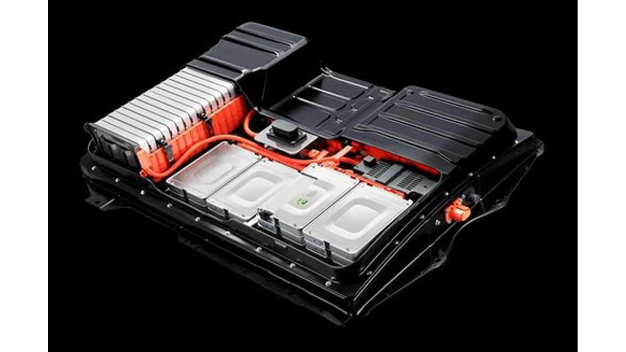 Nissan Leaf Lithium Ion Battery Pack Is Air Cooled That