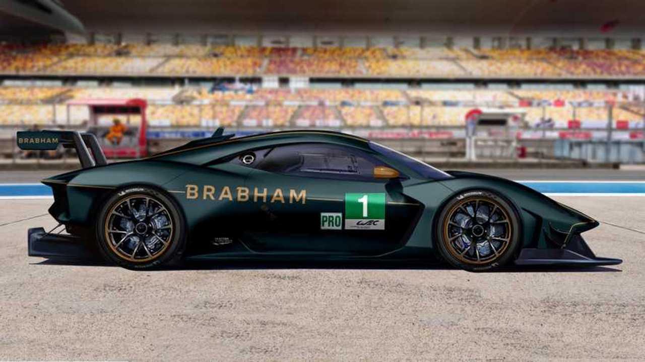 Brabham Le Mans GTE rendering