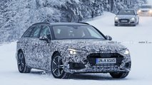 2020 Audi A4 Avant facelift spy photo