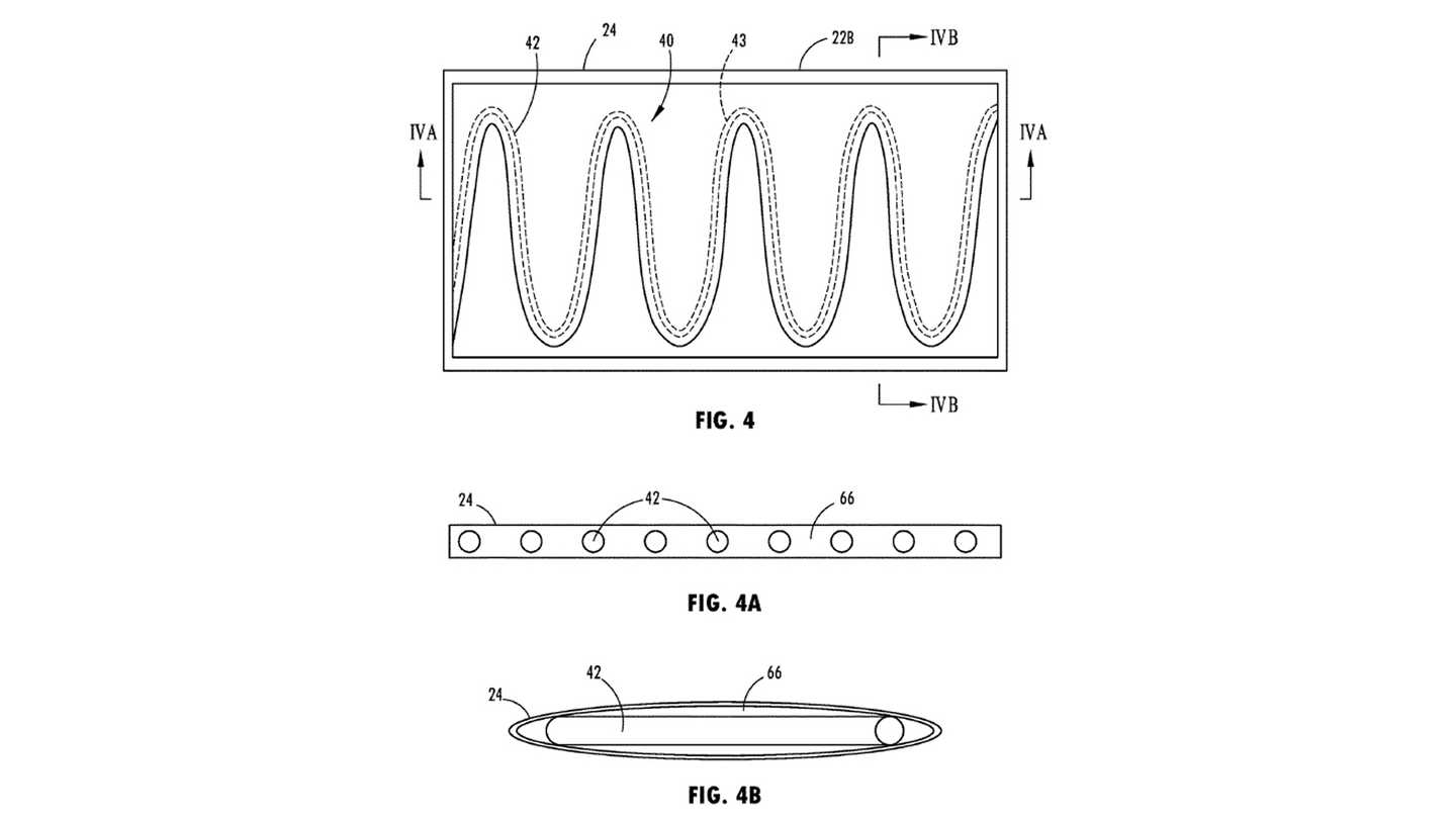 Ford Heated Seat Belt Patent
