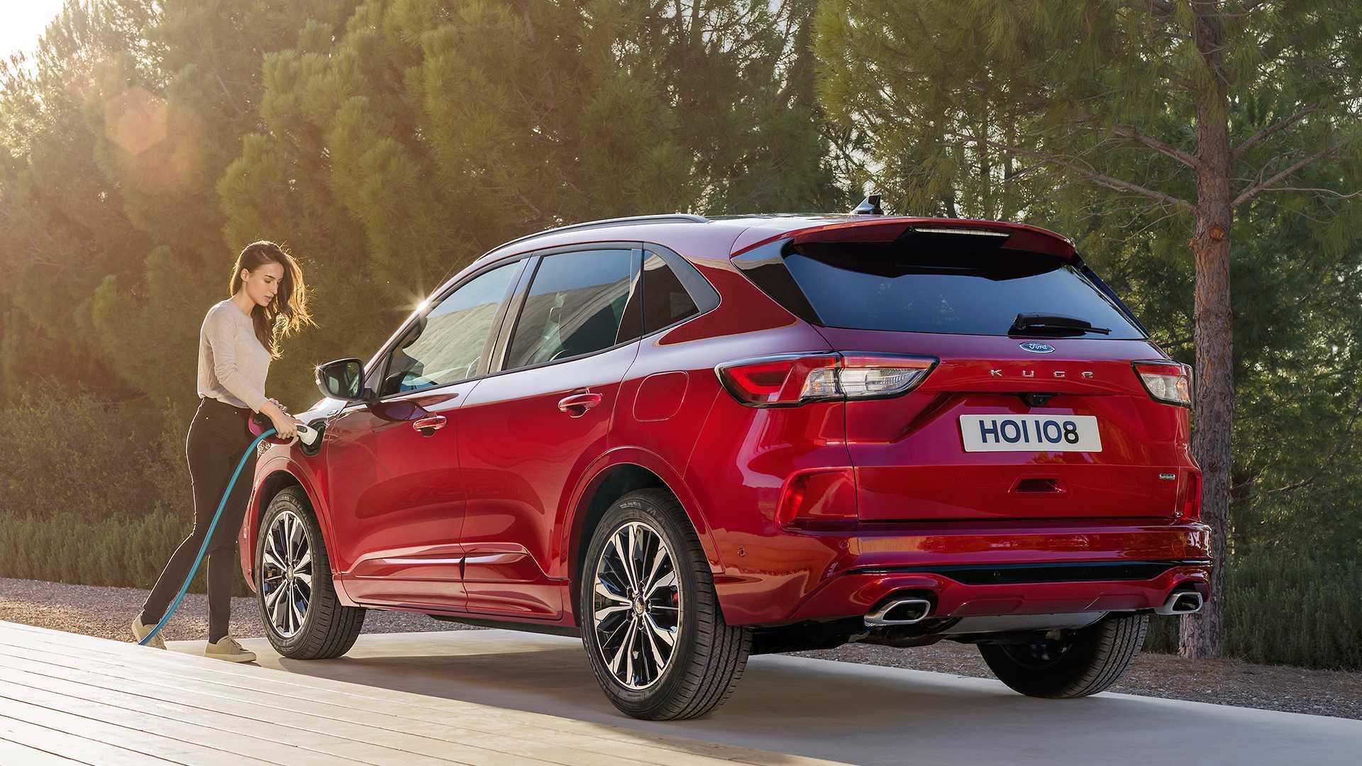 Ford Kuga Plug-In Hybrid : à partir de...