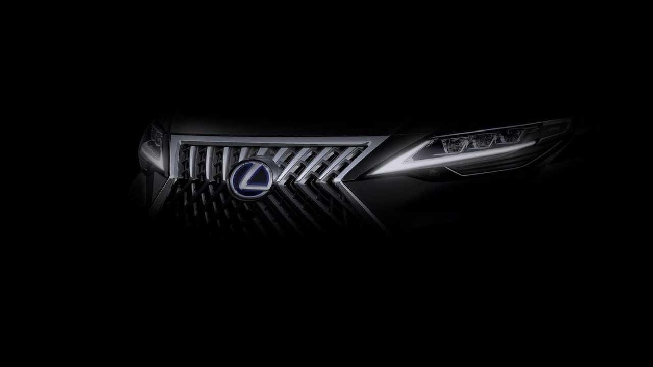Lexus Teaser Shanghai Motor Show