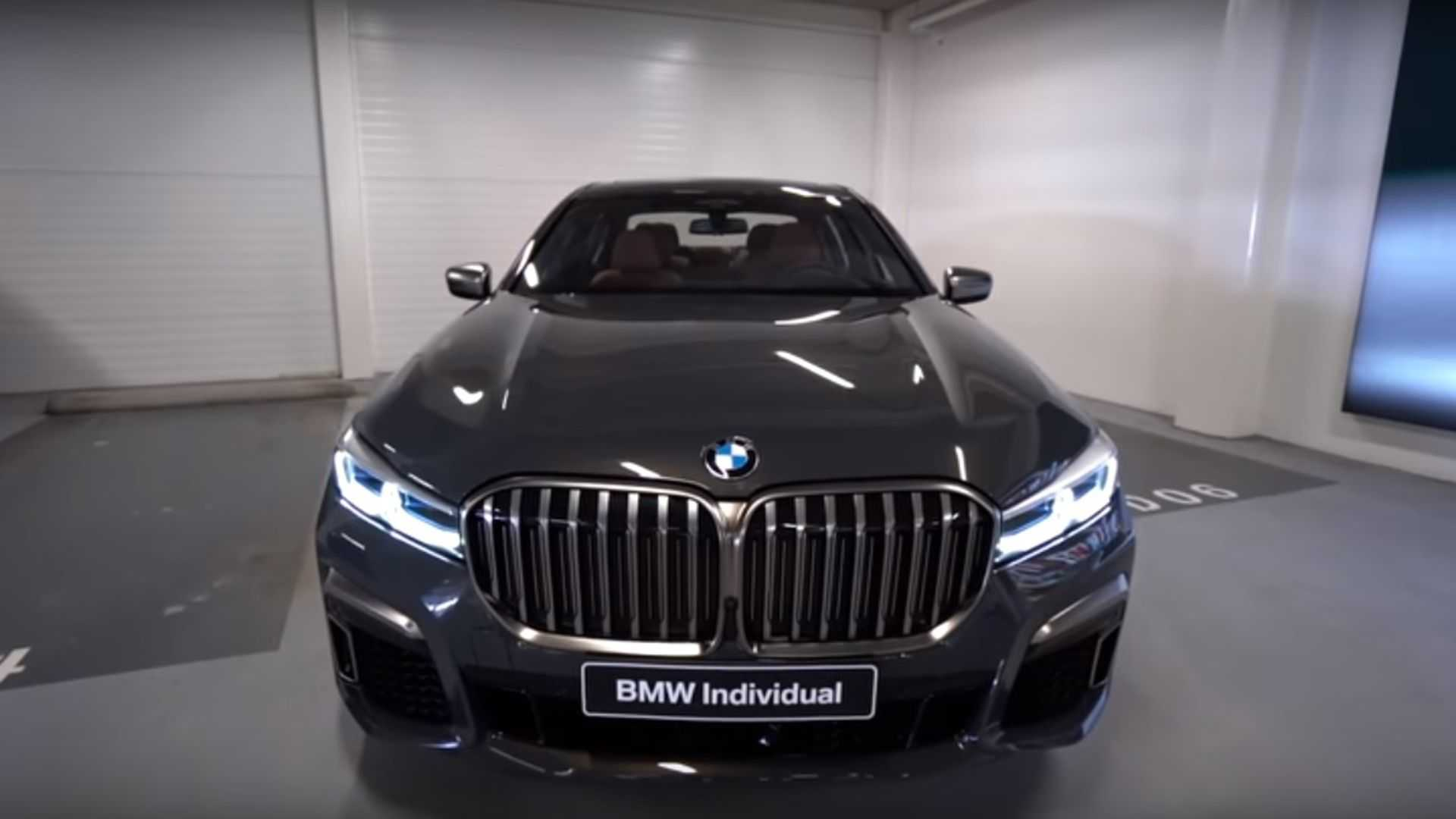 Lavish 2019 BMW M760Li Individual Costs $308,750