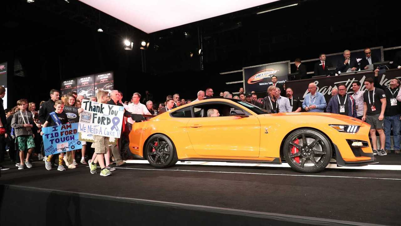 Auctioneer buys first 2020 Mustang Shelby GT500 for $1.1m
