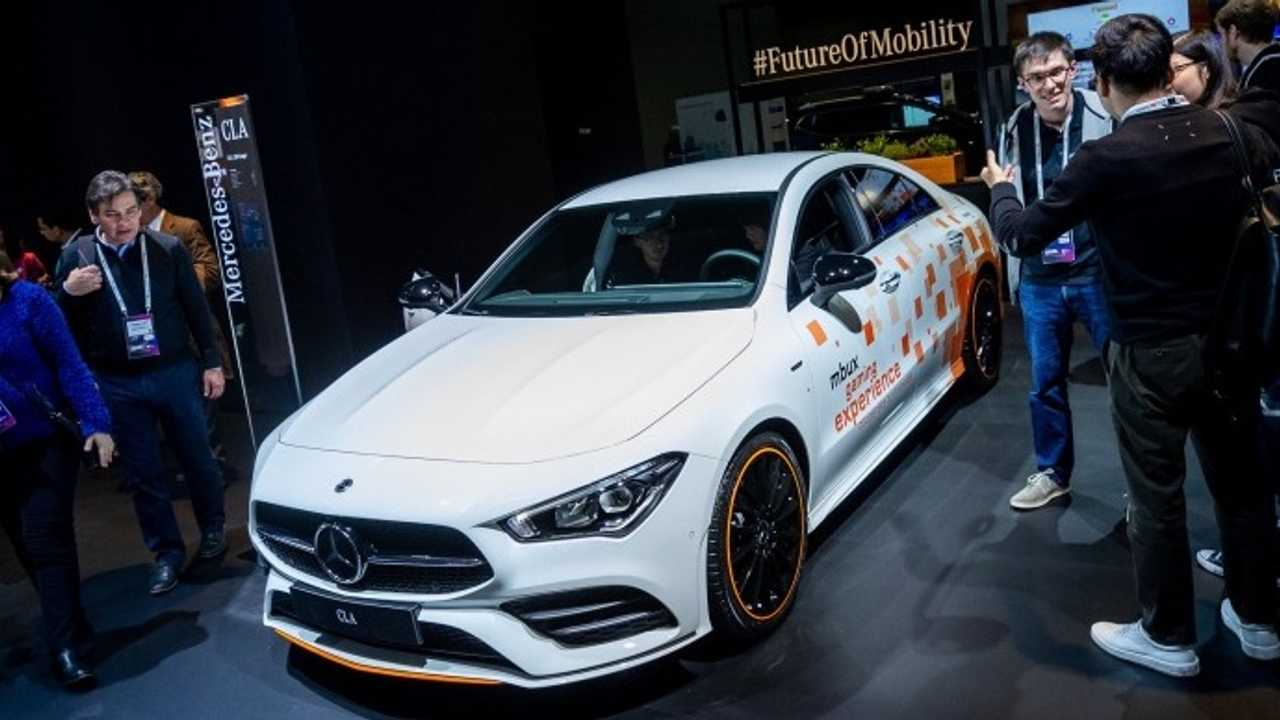 Mercedes MWC 2019