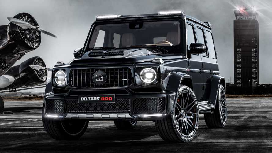 Brabus 800 Widestar is a Mercedes-AMG G63 tuned to perfection