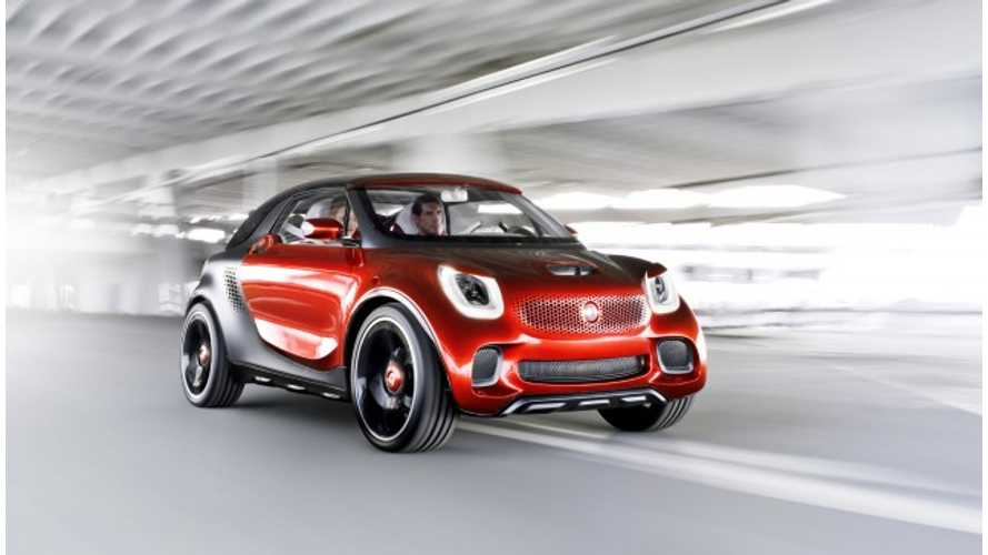 Smart Debuts ForStars, An Electric Sports Utility Coupe Concept